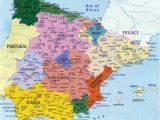 Map Of Spain Showing Regions Spain Maps Printable Maps Of Spain for Download