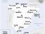 Map Of Spain with Distances Spain Wikipedia
