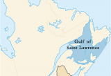 Map Of St Lawrence River Canada Gulf Of Saint Lawrence Wikipedia