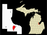 Map Of State Of Michigan with Cities Bay City Michigan Wikipedia