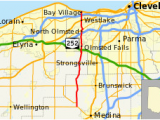 Map Of Strongsville Ohio Ohio State Route 252 Wikivisually