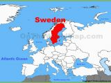 Map Of Sweden In Europe Sweden On Map and Travel Information Download Free Sweden
