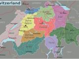 Map Of Switzerland In Europe Switzerland Travel Guide at Wikivoyage
