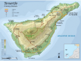 Map Of Tenerife Spain Tenerife Wikipedia