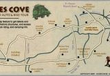 Map Of Tennessee Gatlinburg Cades Cove the Great Smoky Mountain National Park Love the
