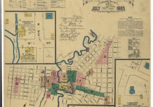 Map Of Terrell Texas Historic Maps Show What Downtown San Antonio Looked Like Back In