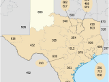 Map Of Texas area Codes area Code 940 Revolvy