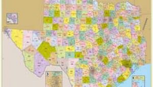 Map Of Texas area Codes Texas County Map List Of Counties In Texas Tx