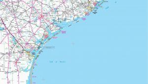 Map Of Texas Coastline Map Of Texas Coast