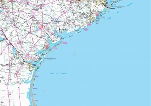 Map Of Texas Coastline Map Of Texas Coast