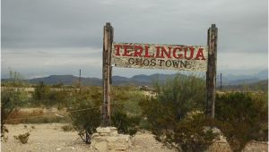 Map Of Texas Ghost towns Ghost town Entrance Picture Of Ghost town Texas Terlingua