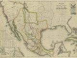 Map Of Texas Indians Mapa De Los Estados Unidos De Mejico 1828 Historic Maps