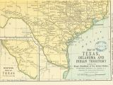 Map Of Texas Indians Texas Indian Territory Map Business Ideas 2013