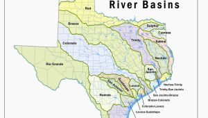 Map Of Texas Lakes and Rivers where is the Colorado River Located On A Map Texas Lakes Map Fresh