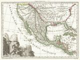 Map Of Texas Lakes File 1810 Tardieu Map Of Mexico Texas and California Geographicus