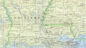 Map Of Texas Louisiana and Mississippi Louisiana Maps Perry Castaa Eda Map Collection Ut Library Online