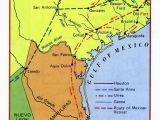 Map Of Texas Revolution Battles Envelope 1 Document 1