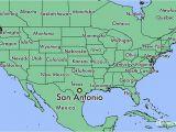 Map Of Texas Showing Major Cities where is San Antonio Tx San Antonio Texas Map Worldatlas Com