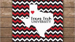 Map Of Texas Tech Digital Texas Tech University Map Art Ttu Printable Wall Art