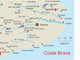 Map Of the Costa Blanca Spain Map Of Costa Brave and Travel Information Download Free Map Of