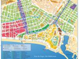 Map Of the Cote D Azur France Maps and Brochures Of Nice Ca Te D Azur
