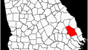 Map Of the Counties In Georgia Bulloch County Georgia Wikipedia