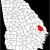 Map Of the Counties Of Georgia Datei Map Of Georgia Highlighting Bulloch County Svg Wikipedia