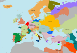 Map Of the Crusades In Europe Imperial Europe Map Game Alternative History Fandom