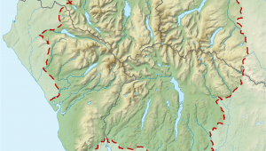 Map Of the Lake District In England Pavey Ark Wikipedia