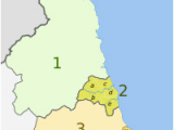 Map Of the north East Of England north East England Wikipedia