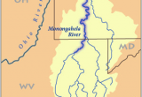Map Of the Ohio River Valley Monongahela River Wikipedia