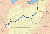 Map Of the Ohio Valley Ohio River Revolvy