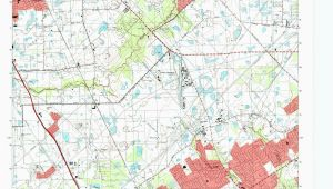 Map Of tomball Texas Us Map Of States topographic Elegant tomball Quadrangle the Portal