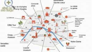 Map Of tourist attractions In France Paris top tourist attractions Map Interesting Sites In A