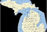 Map Of townships In Michigan Outline Of Michigan Wikipedia