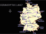 Map Of Train Routes In Europe Germany Rail Map and Transportation Guide