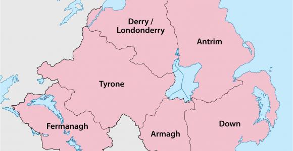 Map Of Tyrone northern Ireland Counties Of northern Ireland Wikipedia