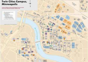 Map Of University Of Minnesota Campus 22 Simple Minnesota Campus Map Afputra Com