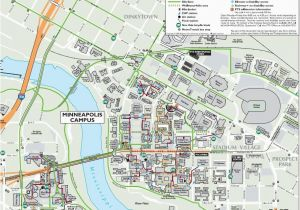 Map Of University Of Minnesota Campus On some Campuses Students Get to Class with Underground Tunnels and