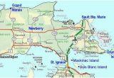 Map Of Up Michigan Map Of Eastern Upper Peninsula Of Michigan Trips In 2019 Upper
