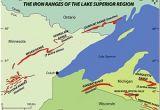 Map Of Upper Peninsula Michigan Cities Gogebic Range Wikipedia