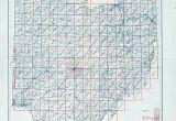 Map Of Upper Sandusky Ohio Ohio Historical topographic Maps Perry Castaa Eda Map Collection
