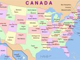 Map Of Us and Canada with Major Cities Us Map Not Vague Western Usa Map Cities Easyern Eastern States