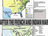 Map Of Usa and England French and Indian War Map Activity American Revolution