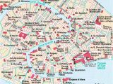 Map Of Venice Italy Neighborhoods Central Venice Most Popular Historical Sights Venice top tourist