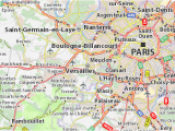 Map Of Versailles France Karte Versailles Creactie