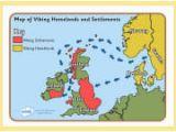 Map Of Viking Settlements In England Vikings Anglo Saxons Viking Raiders Invaders Lks2