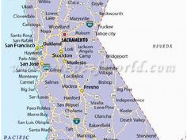 Map Of California Visalia.Map Of Visalia California 13 Best California Map Images California
