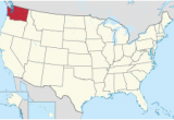 Map Of Washington and oregon State Washington State Wikipedia