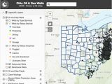 Map Of Wayne County Ohio Oil Gas Well Locator